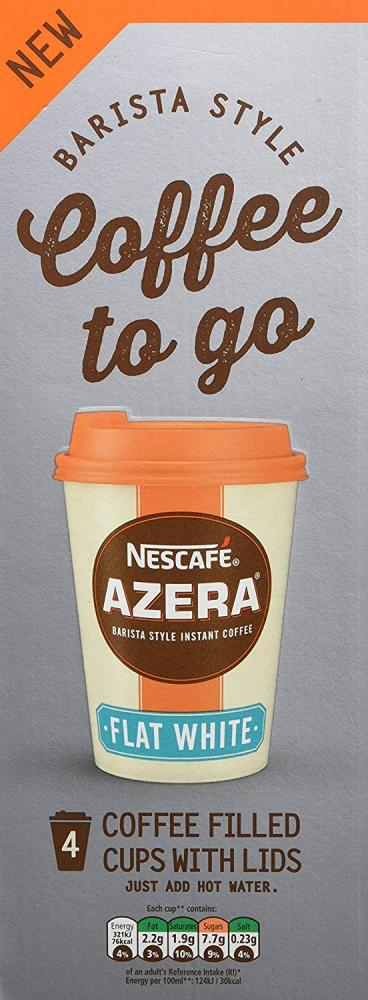 Nescafe Azera To Go Flat White 20g x 4