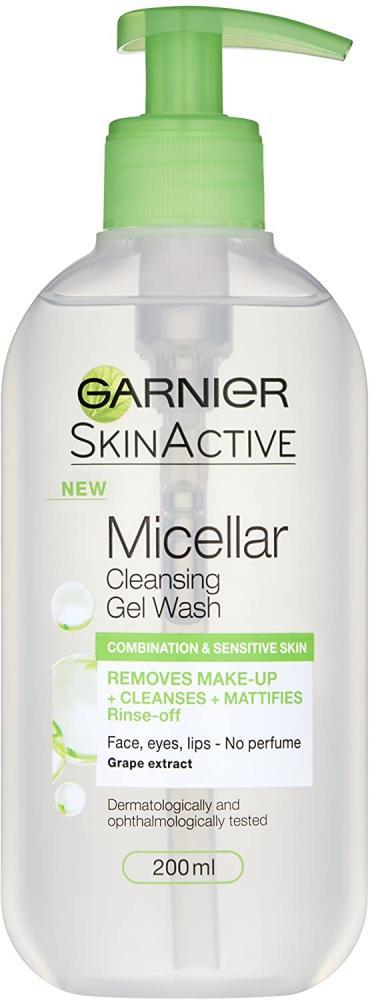 Garnier Micellar Gel Face Wash Combination Skin 200 ml
