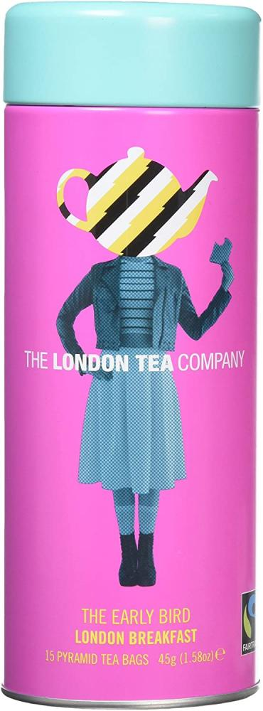 The London Tea Company The Early Bird Breakfast Teabags 45 g