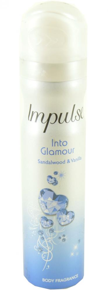 Impulse Into Glamour Sandalwood and Vanilla Spray 75ml