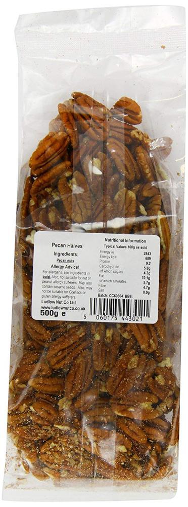 Ludlow Nut Pecan Halves 500g