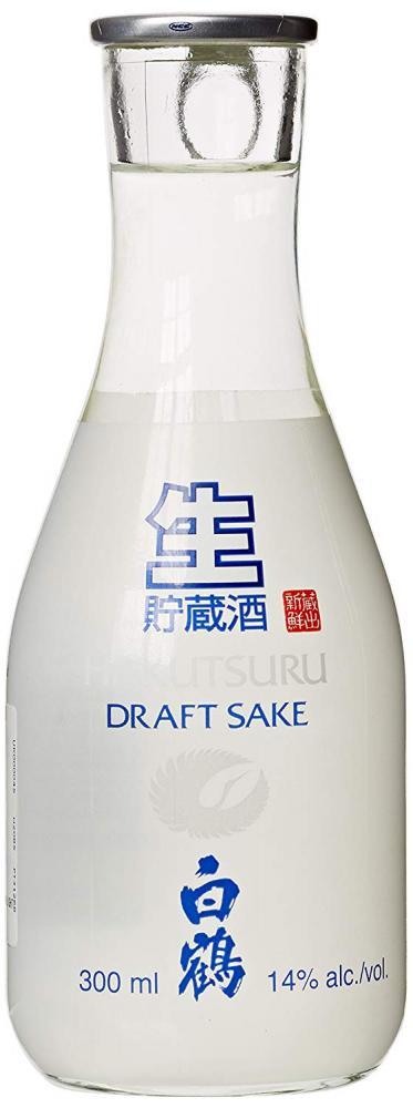 Hakutsuru Junmai Namachozoushu Draft Sake 30cl