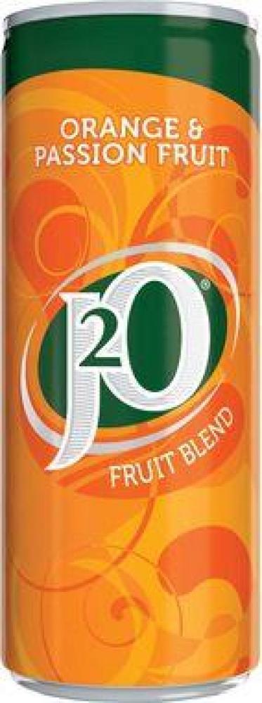 J20 Orange and Passion Fruit 250ml