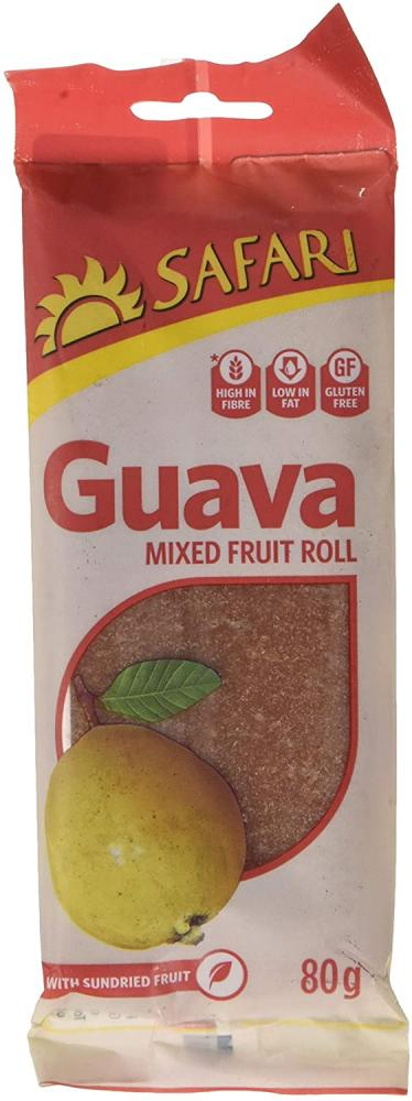 Safari Guava Fruit Rolls 80g