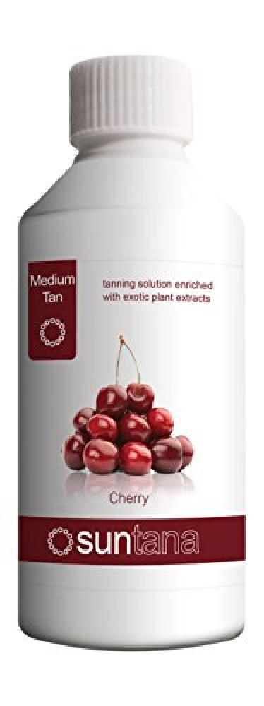 Suntana Spray tan Cherry Fragranced Spray Tanning Solution Medium Tan 250ml
