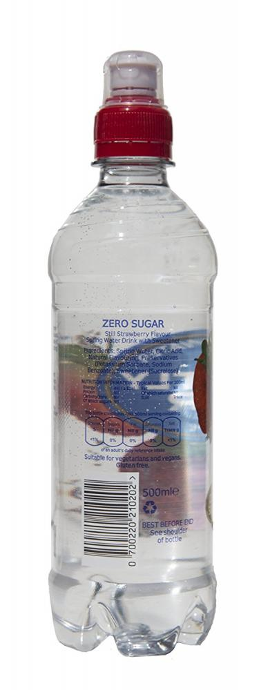 Perfectly Clear Still Strawberry Flavoured Water 500ml