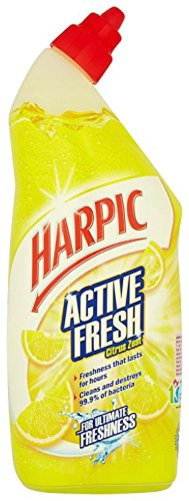 Harpic Active Fresh Citrus Zest Cleaning Gel 750ml