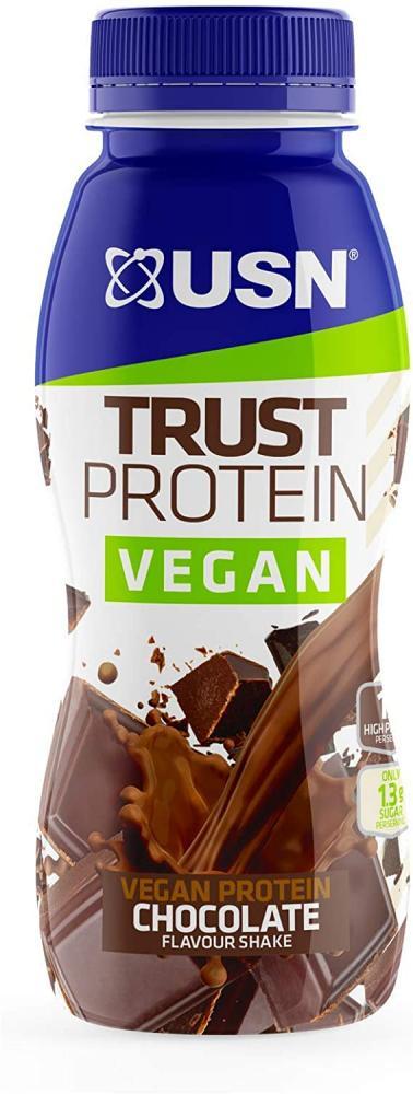 USN Vegan Protein Shake Chocolate 310ml