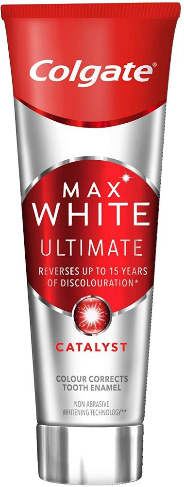 Colgate Colgate Max White Ultimate Catalyst Whitening Toothpaste 75ml No box