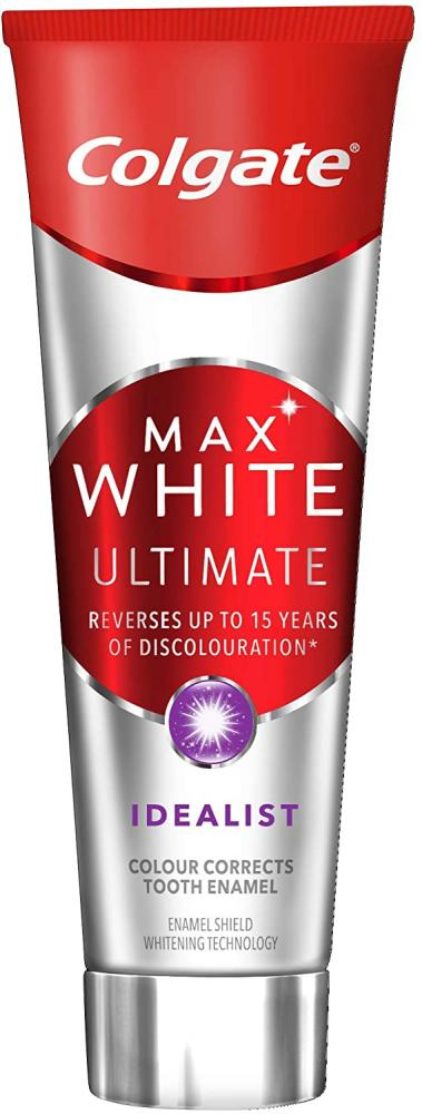 Colgate Max White Ultimate Idealist Whitening Toothpaste 75ml No box