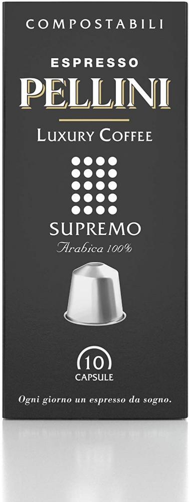 Pellini Caffe Supremo 100 Arabica Espresso Capsules 50 g Damaged Box