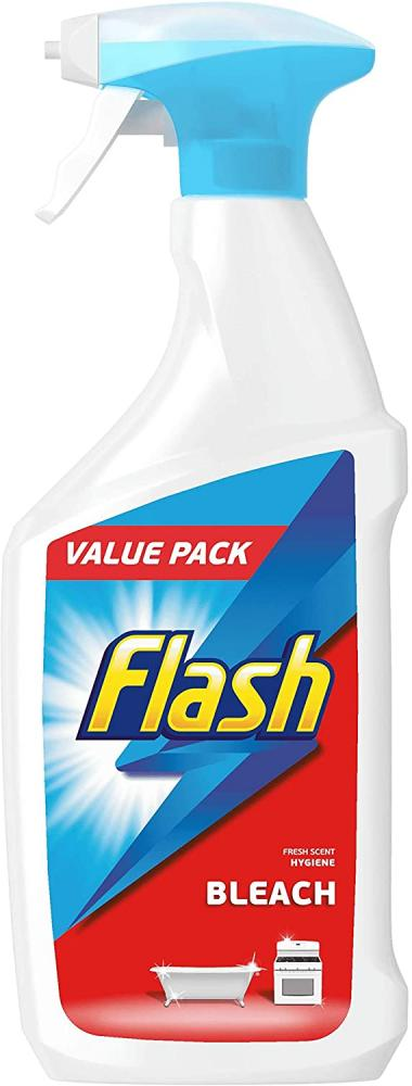 Flash Multi Purpose Cleaning Spray Bleach For Hard Surfaces 750ml
