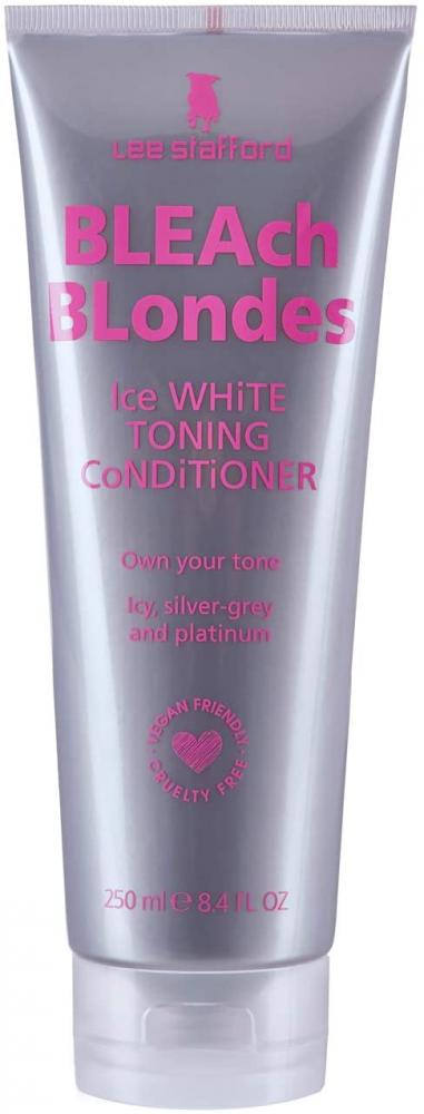 Lee Stafford Bleach Blondes Ice White SIlver Toning Conditioner 250ml