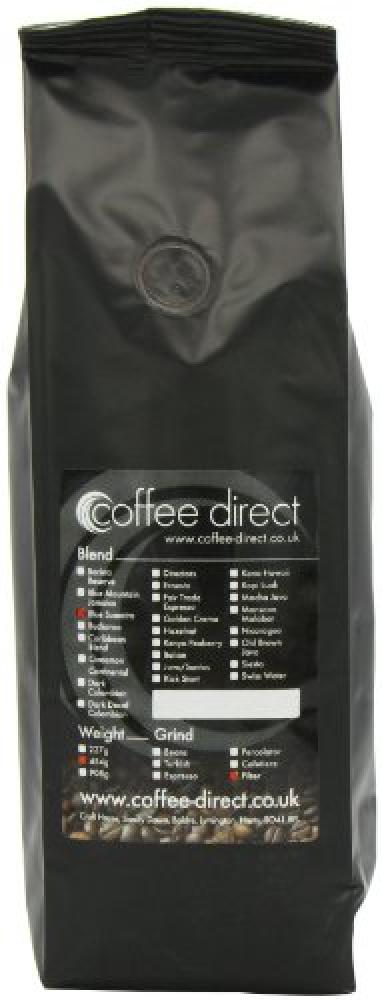 Coffee Direct Blue Sumatra Coffee Filter Grind 454 g