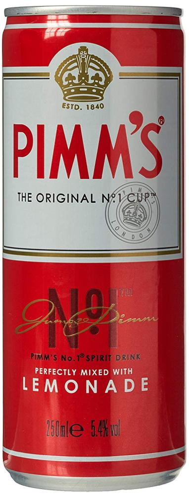 Pimms Lemonade Premix Can 250ml