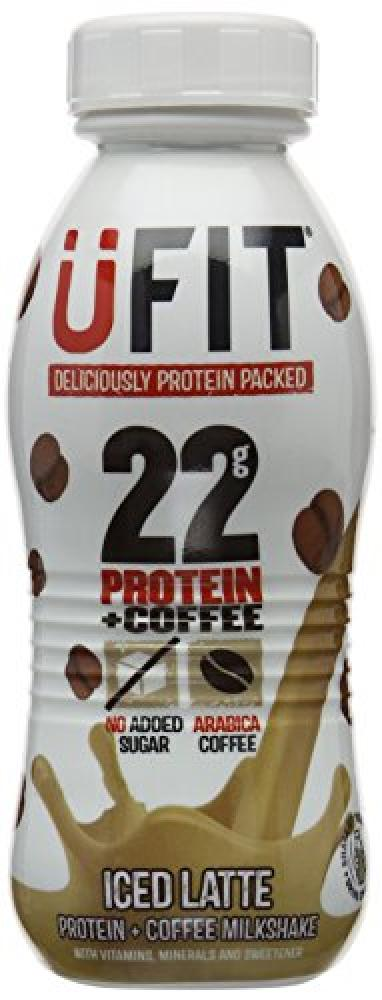 Ufit 310 ml Iced Latte High Protein Shake Drink