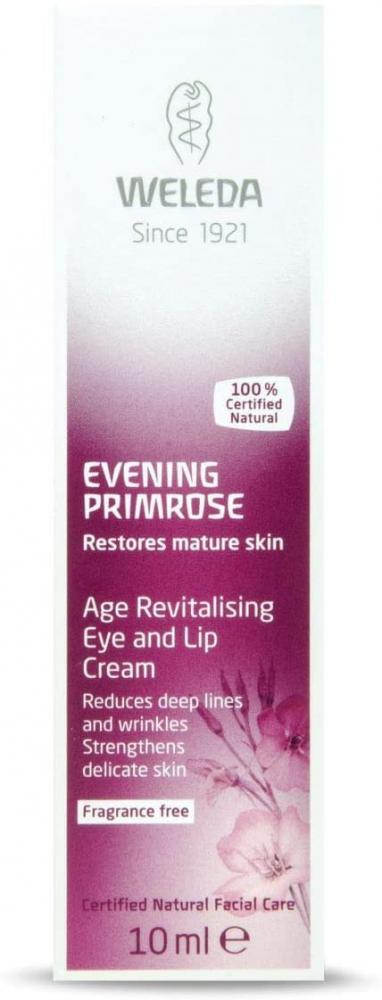 Weleda Evening Primrose Age Revitalising Eye Lip Cream 10ml