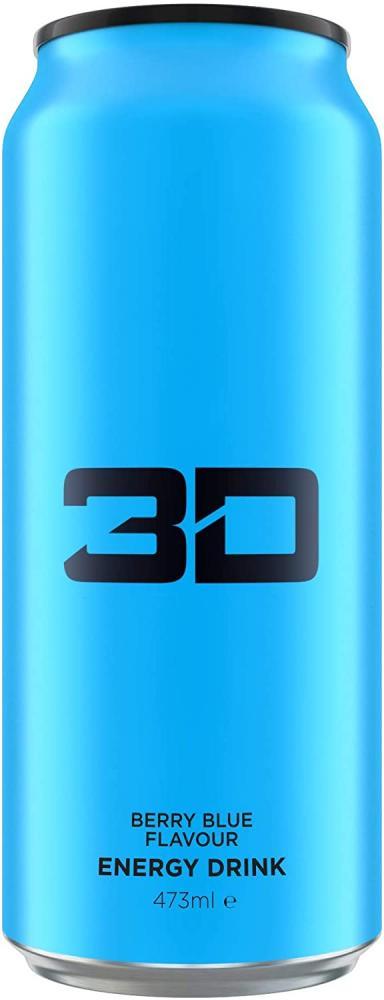 3D Energy BerryBlue Flavour 473 ml