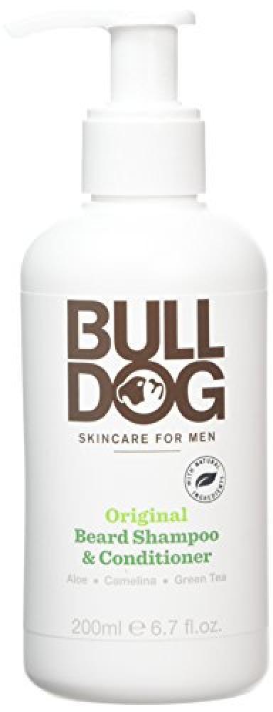 Bulldog Original 2-in-1 Beard Shampoo and Conditioner for Men 200 ml