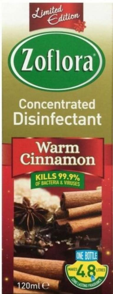 Zoflora Concentrated Disinfectant Warm Cinnamon 120ml