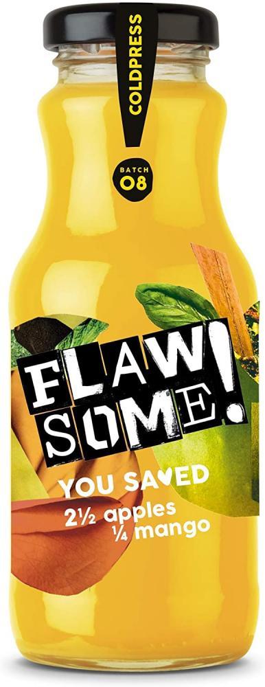 Flawsome Pressed Apple and Mango Juice 250ml