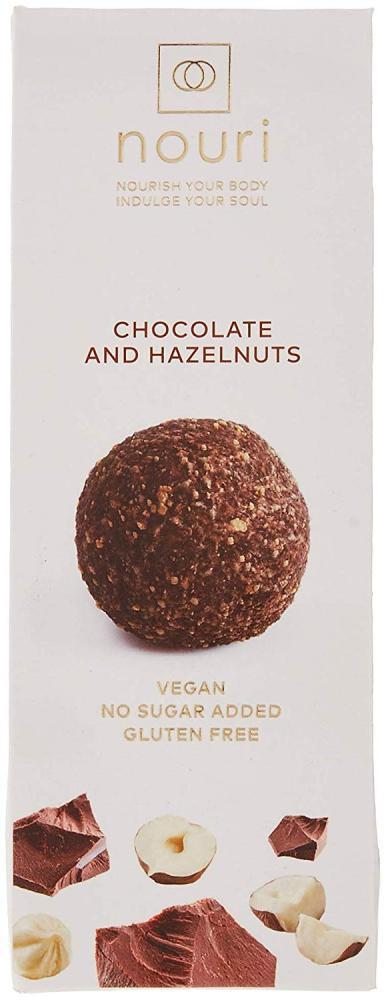 Nouri Chocolate And Hazelnut Truffles 30g