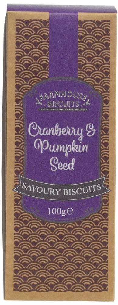 Farmhouse Biscuits Cranberry and Pumpkin Seed 100g