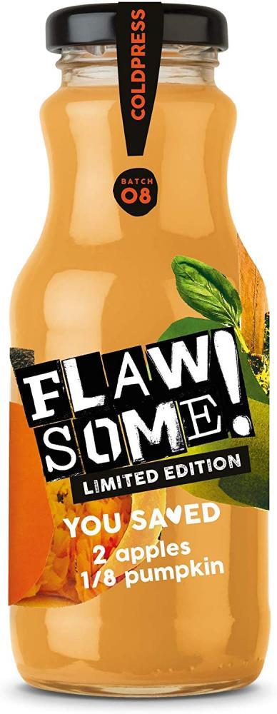 Flawsome No Added Sugar Pressed Apple and Pumpkin Juice 250ml