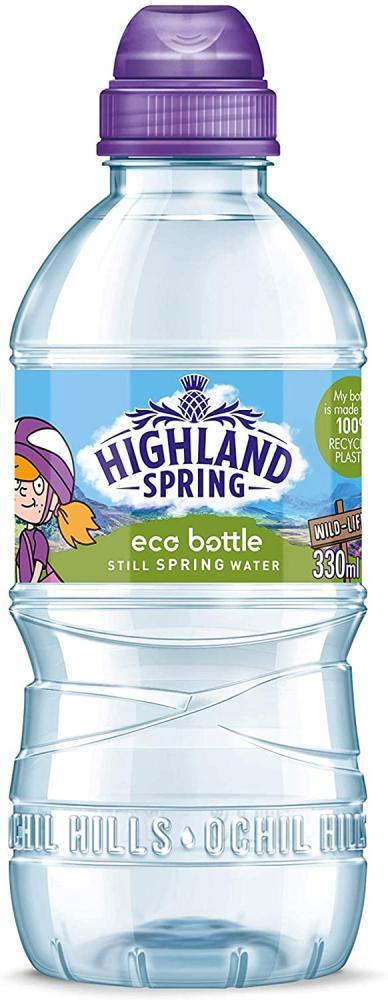 Highland Spring Kids Eco Bottle Still Water 330ml