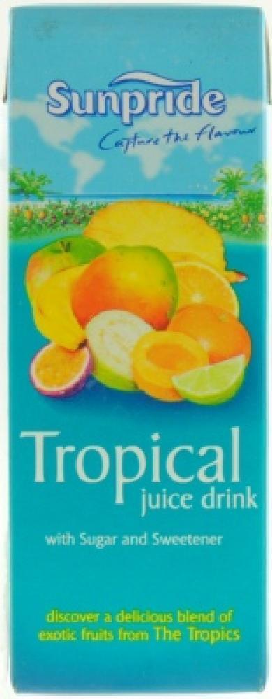 Sunpride Tropical Juice Drink 250ml