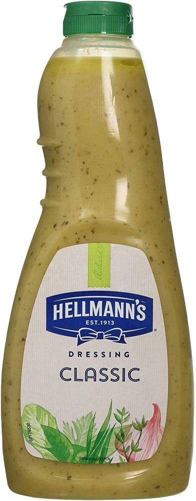 Hellmanns Classic Vinaigrette Salad Dressing 1 Litre