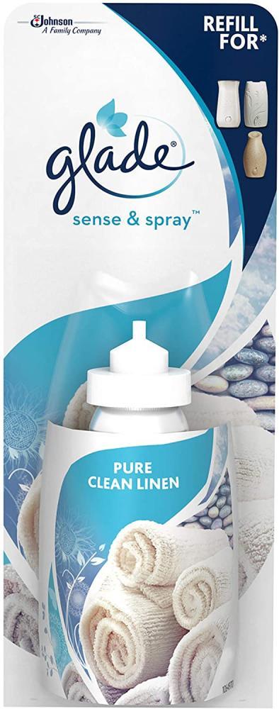 Glade Sense and Spray Refill Clean Linen Air Freshener 18 ml
