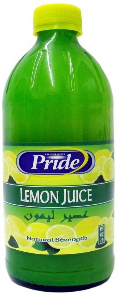 Pride Lemon Juice 500ml