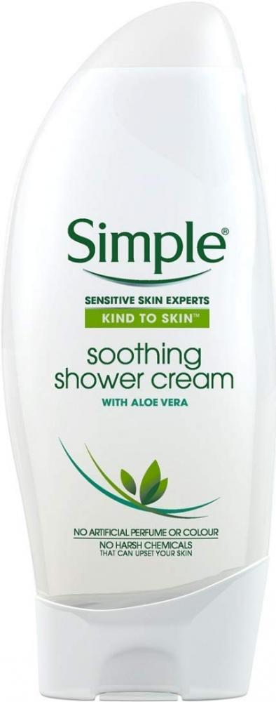 Simple Kind to Skin Shower Cream Soothing 250 ml