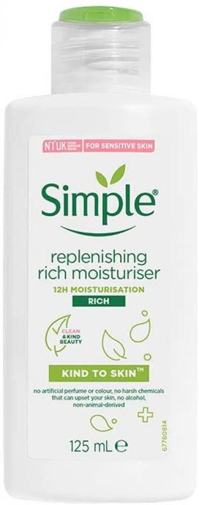 Simple Replenish Rich Moisturiser 125ml