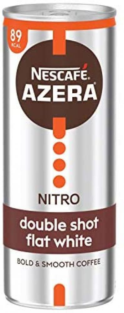 Nescafe Azera Nitro Double Shot Flat White 250ml
