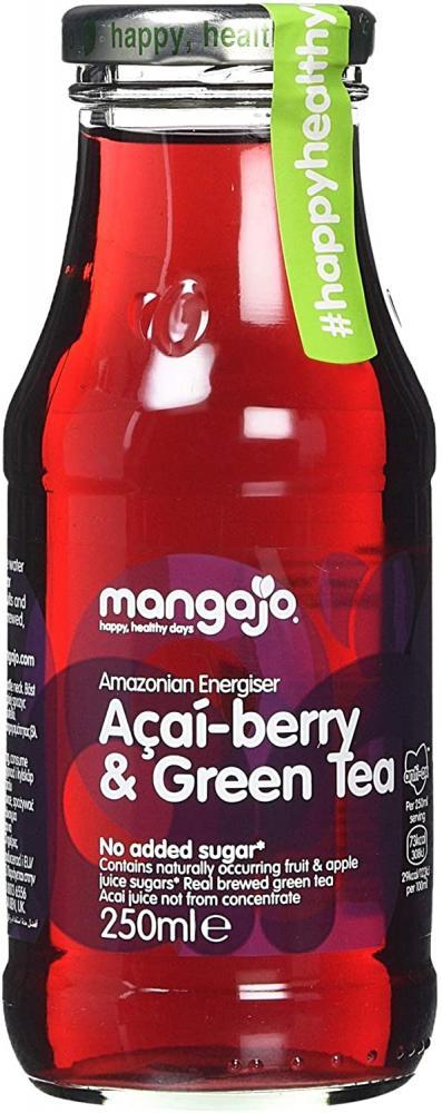 Mangajo Acai Berry and Green Tea Drink 250ml