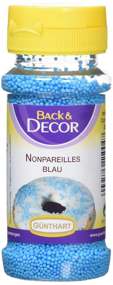 Gunthart Nonpareilles Blue Sugar Topping 85g
