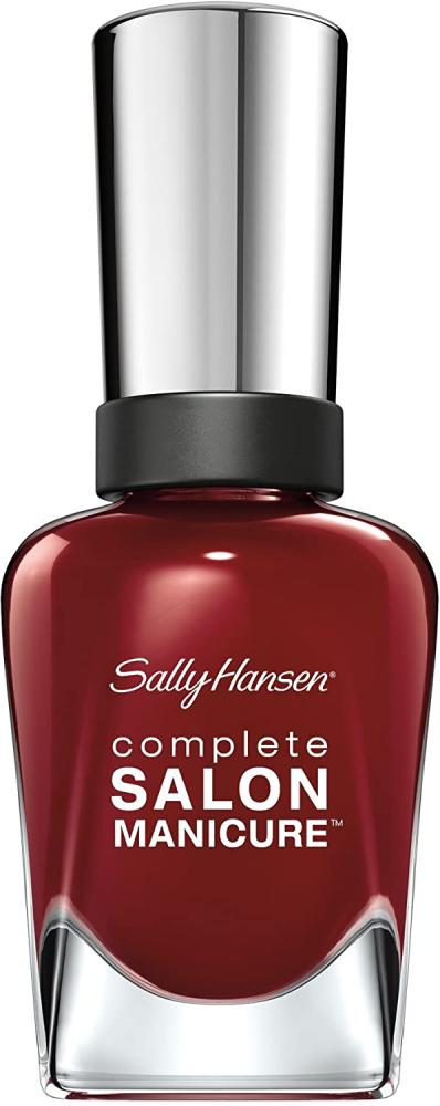 Sally Hansen Complete Salon Manicure Nail PolishPink and Red Shades Red Zin 14.7 ml