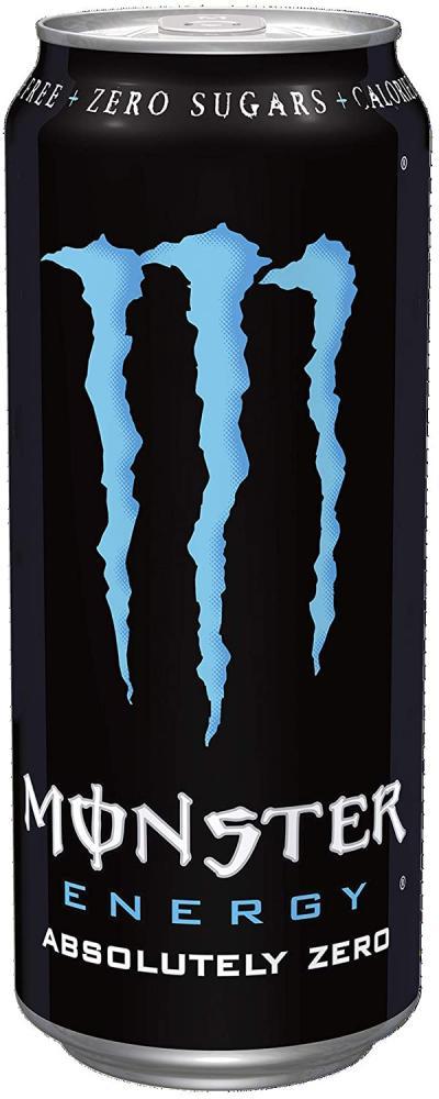 Monster Energy Absolute Zero Drink 500ml