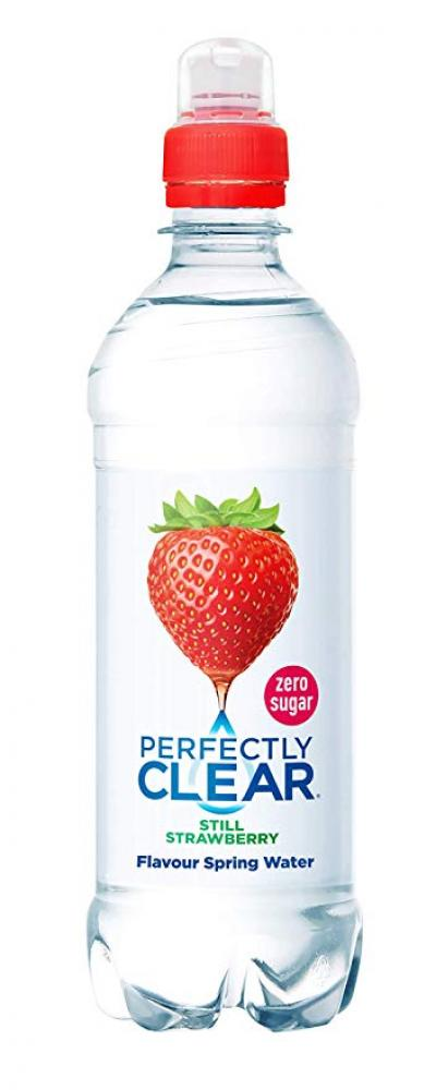 Perfectly Clear Still Strawberry Flavour Spring Water 500ml