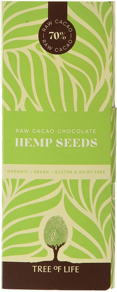 Tree Of Life Raw Organic Chocolate Hemp Seeds 75g