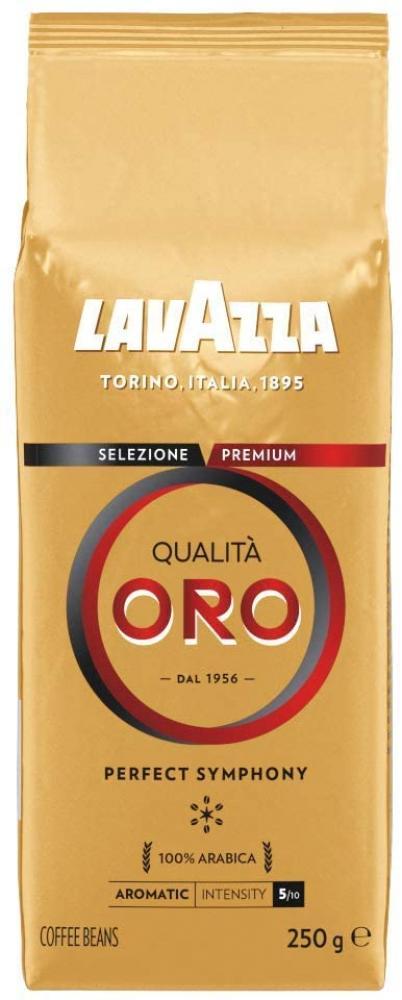 Lavazza Qualita Oro 100 percent Arabica Medium Roast Coffee Beans 250 g