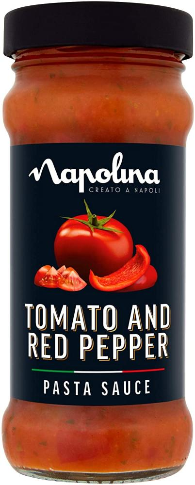 Napolina Tomato and Red Pepper Pasta Sauce 350g
