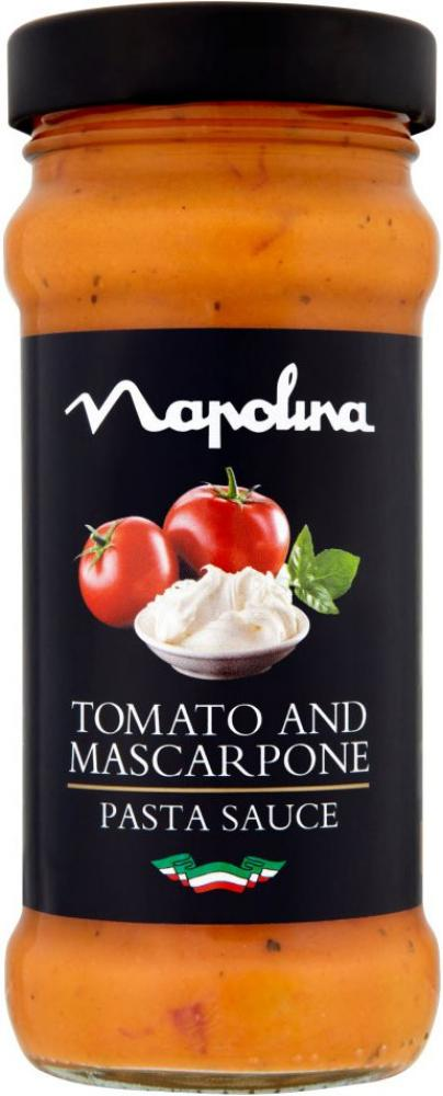 Napolina Tomato And Mascarpone Pasta Sauce 350g Approved Food