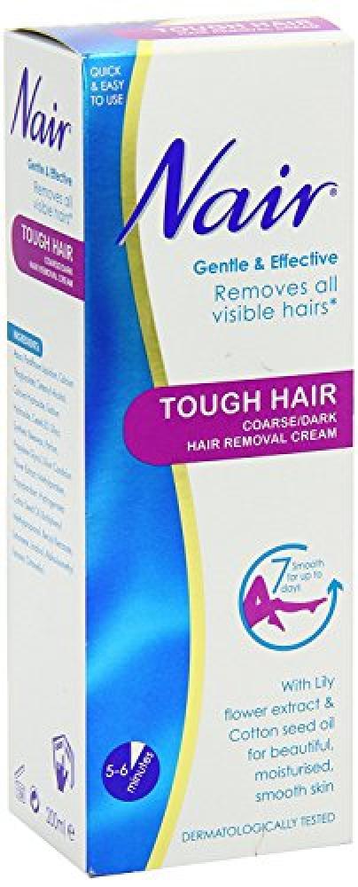 Nair Tough Hair Coarse Hair Removal Cream 200ml Approved Food