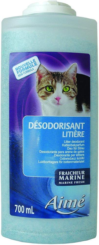 Aime Cat Litter Deodoriser Marine Fresh 700ml