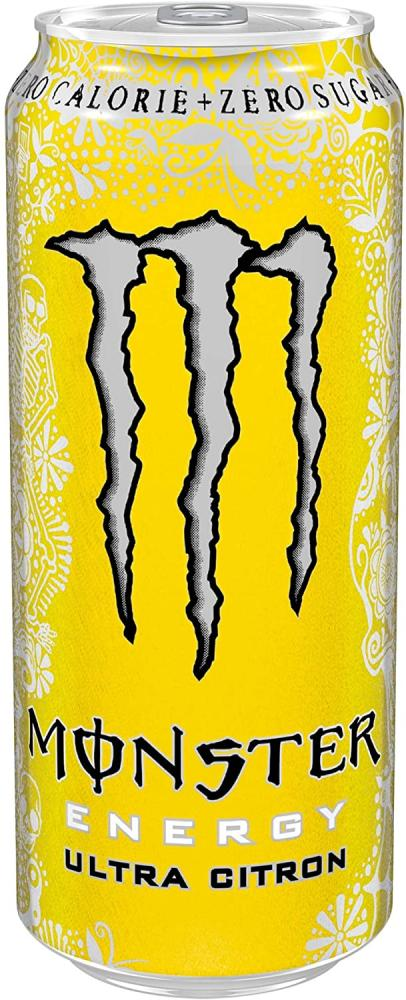 10 AT 10P  Monster Ultra Citron Energy Drink 500ml