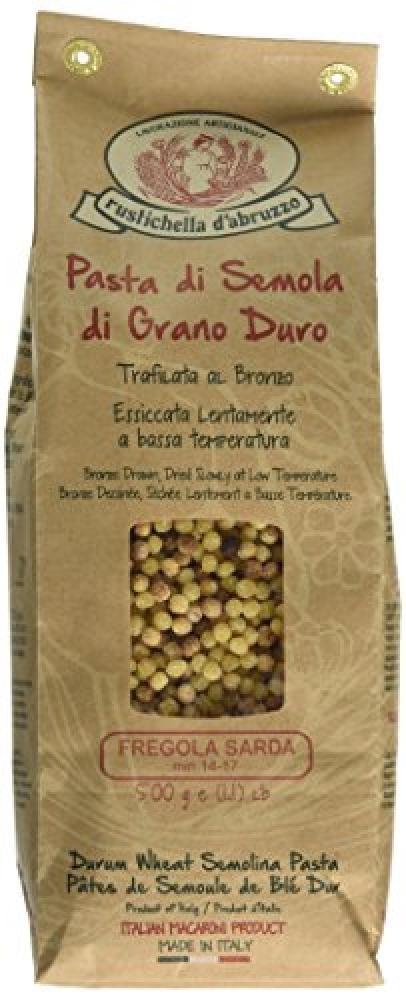 Rustichella DAbruzzo Fregola Sarda Tostata Short Pasta 500g