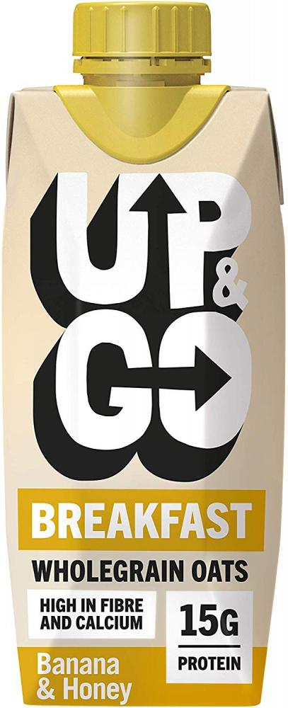 Up and Go Breakfast Banana And Honey 330ml